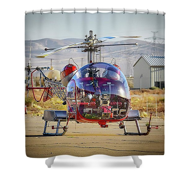 Bell 47 Shower Curtain