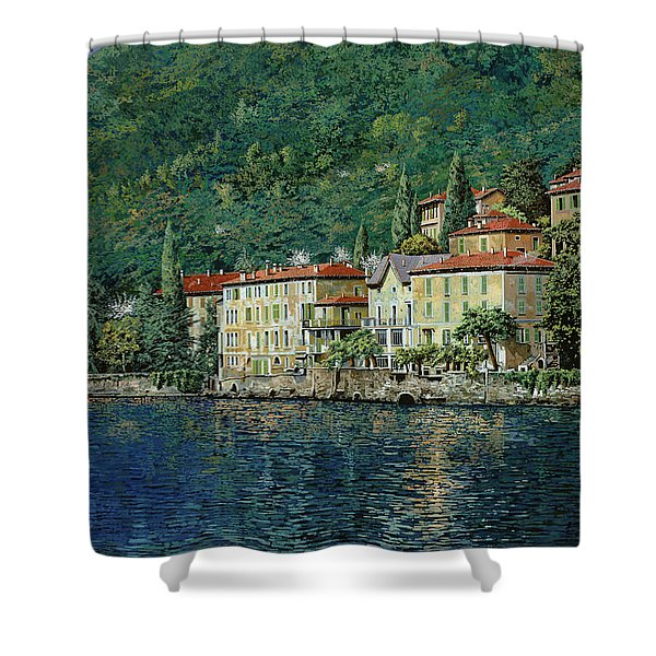 Bellano On Lake Como Shower Curtain