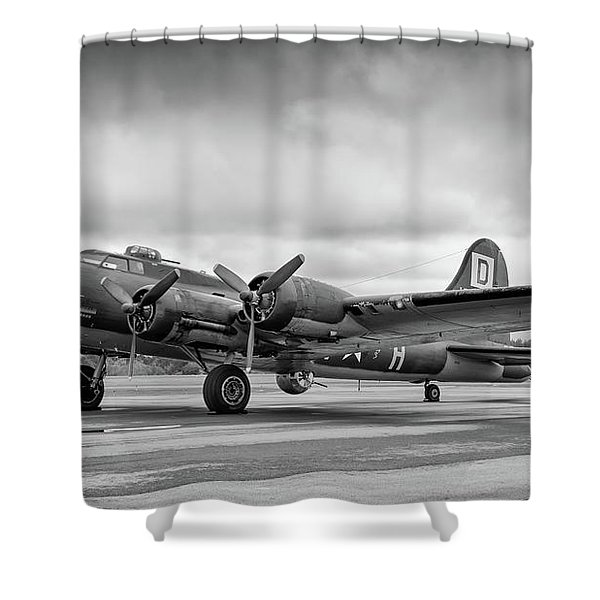 Belle On The Ramp Shower Curtain