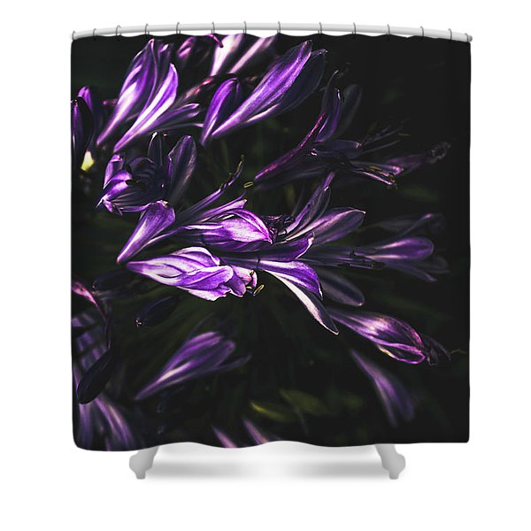 Bells And Flowers Shower Curtain