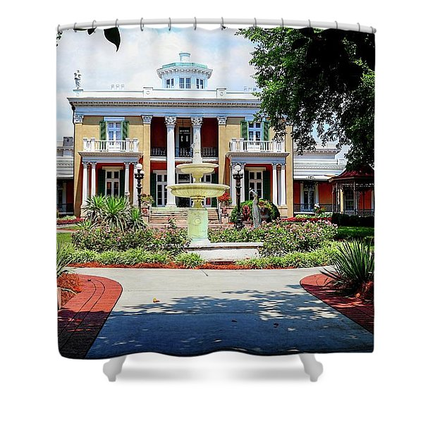 Belmont Mansion Shower Curtain