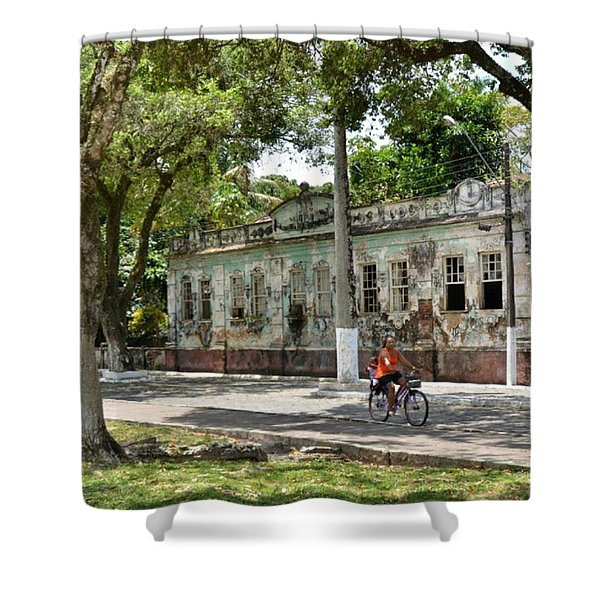 Belmonte - #bahia - #brasil #ig_brazil Shower Curtain