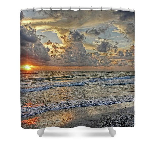 Beloved - Florida Sunset Shower Curtain