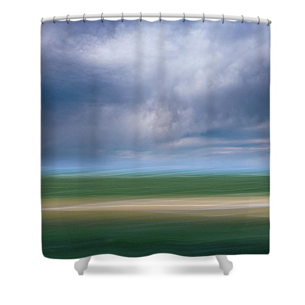 Below The Clouds Shower Curtain
