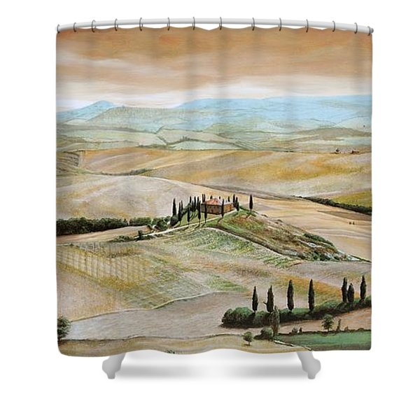 Belvedere - Tuscany Shower Curtain