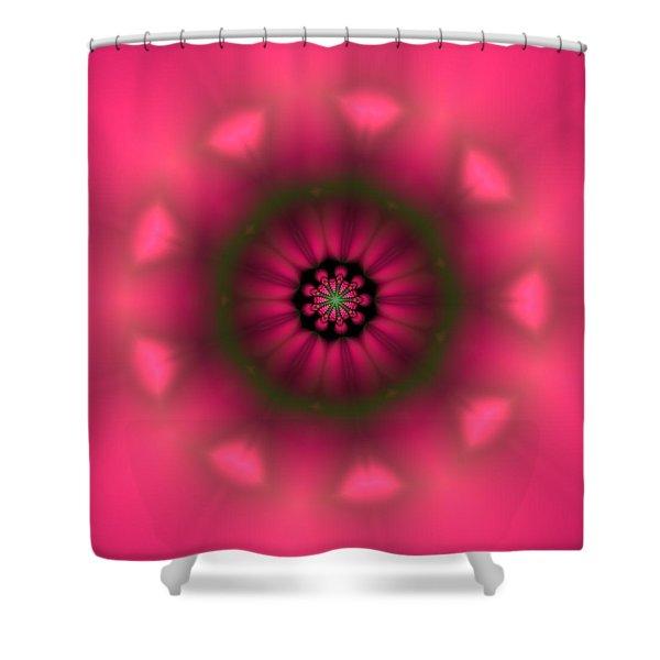 Shower Curtain featuring the digital art Ben 9 by Robert Thalmeier