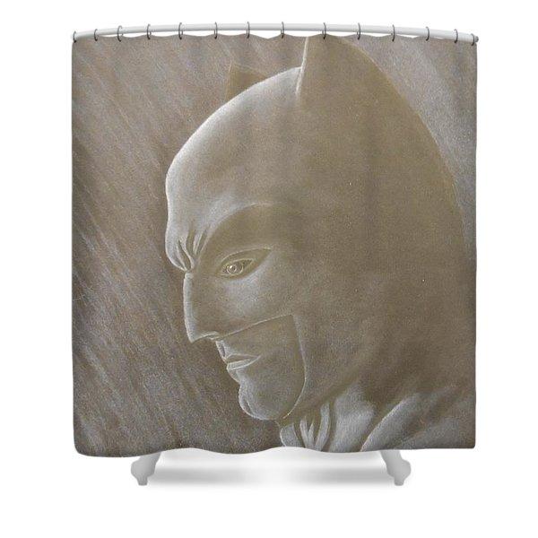 Ben As Batman Shower Curtain