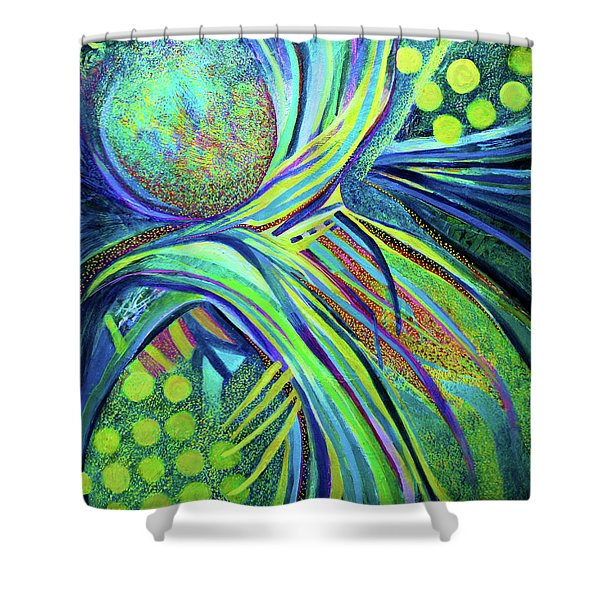 Beneath The Everlasting Arms Shower Curtain