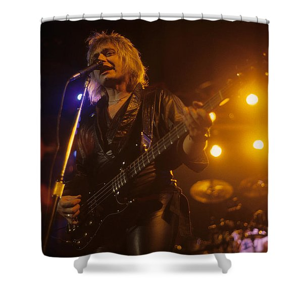 Benjamin Orr Of The Cars Shower Curtain