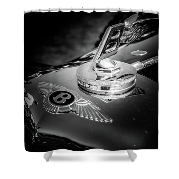 Bentley Hood Ornament Shower Curtain