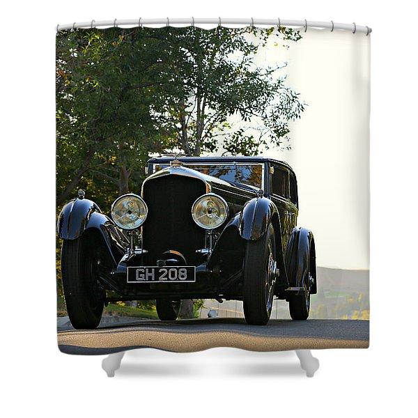 Bentley Speed 6 Corsica Shower Curtain