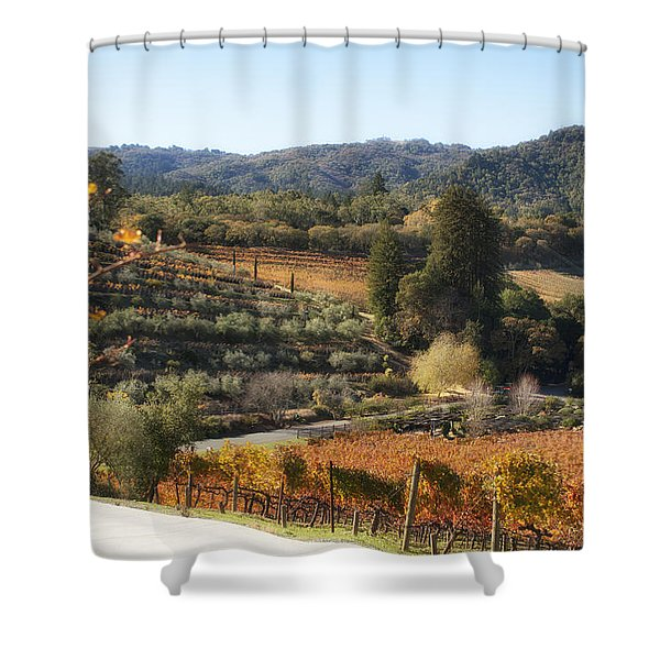Benziger Winery Shower Curtain