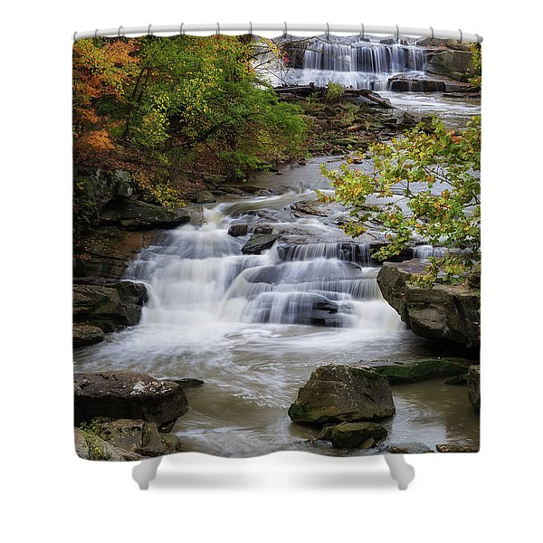 Berea Falls Shower Curtain