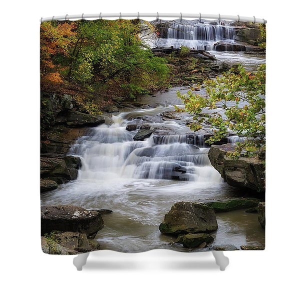Berea Falls Shower Curtain