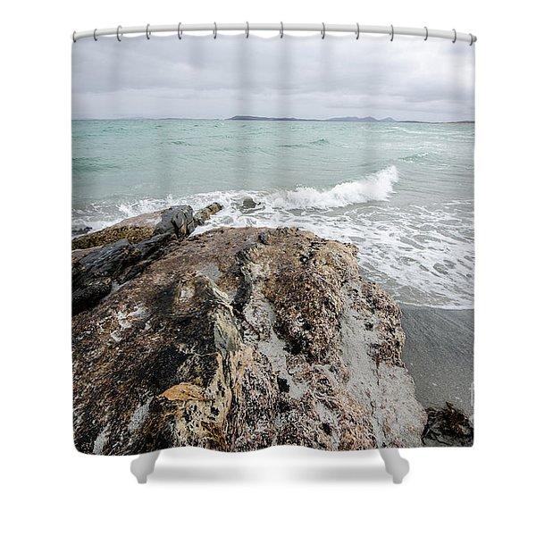 Berneray Views Shower Curtain