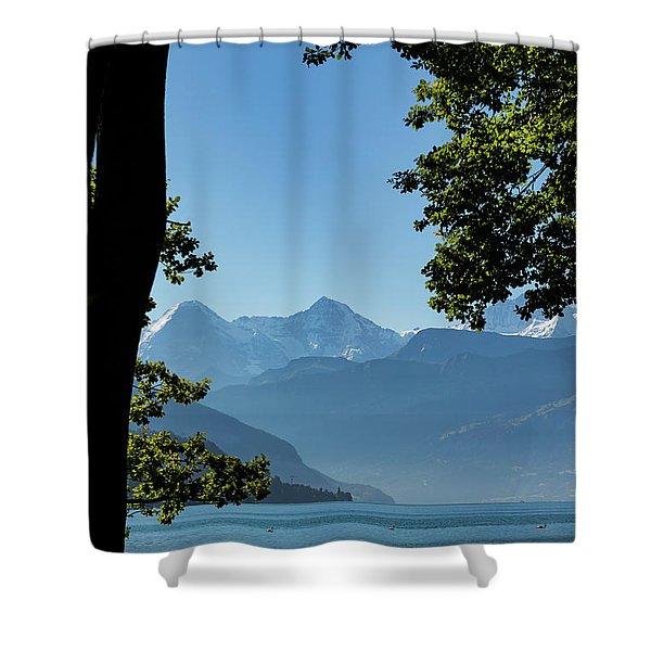 Bernese Oberland Shower Curtain