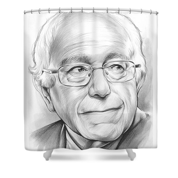 Bernie Sanders Shower Curtain