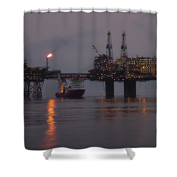 Beryl Alpha Shower Curtain