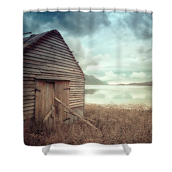 Beside The Lake Shower Curtain
