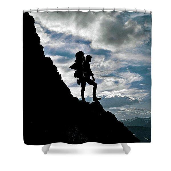 Best Foot Forward Shower Curtain