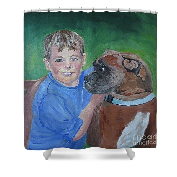 Best Pals Shower Curtain