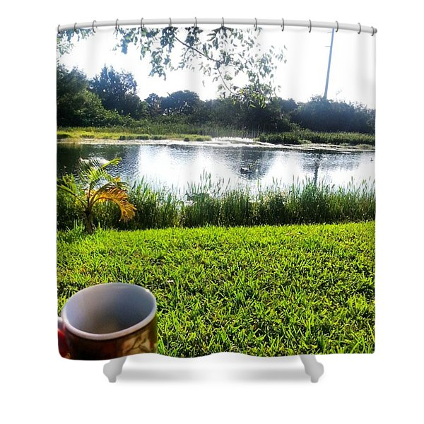 Best Way To Start Your Morning Shower Curtain