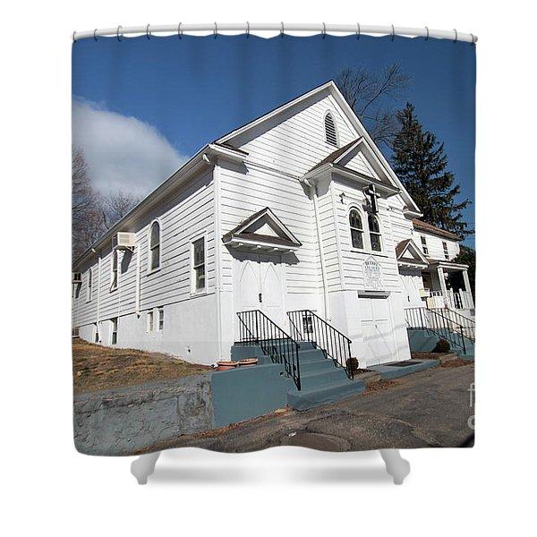 Bethel Ame Church  Huntington Shower Curtain