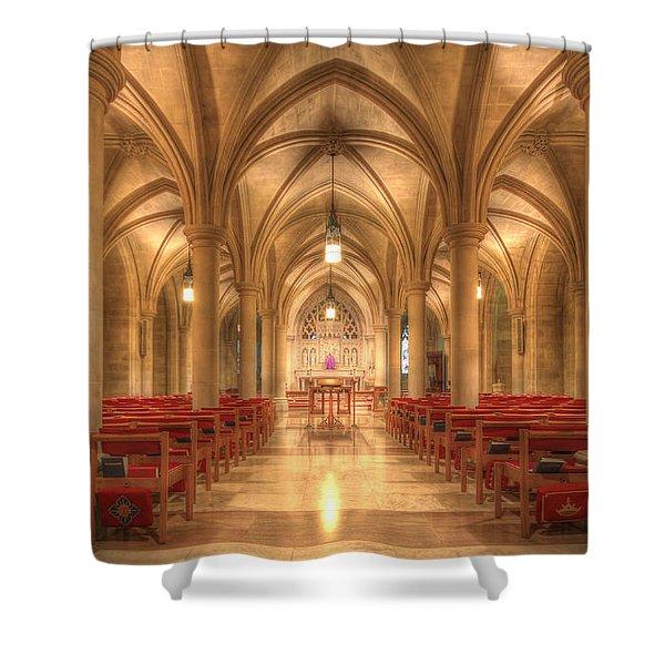 Bethlehem Chapel Washington National Cathedral Shower Curtain