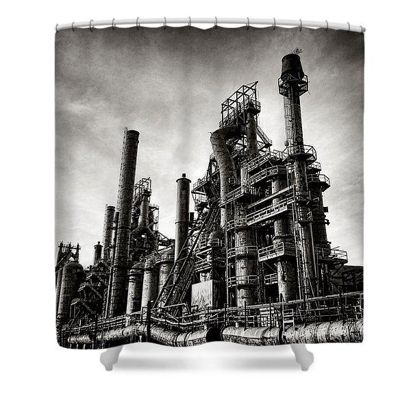 Bethlehem Steel Shower Curtain