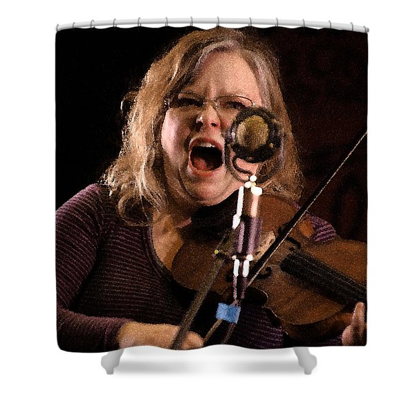 Betse Ellis Shower Curtain