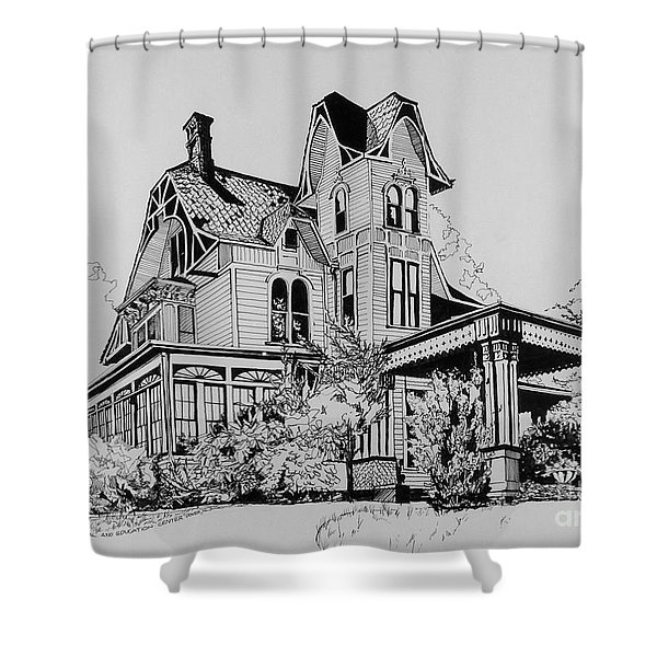 Betsy Ross' Home In Dover, N.j. Shower Curtain