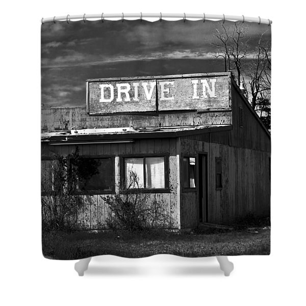 Better Days - An Old Drive-in Shower Curtain