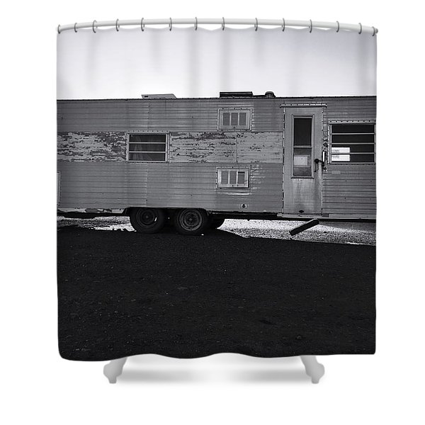 Better Days On Route 66 Shower Curtain
