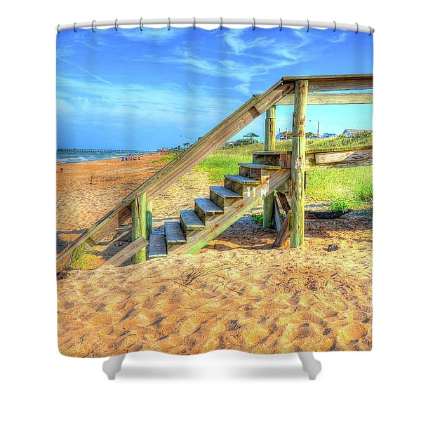 Betty's Place  Shower Curtain