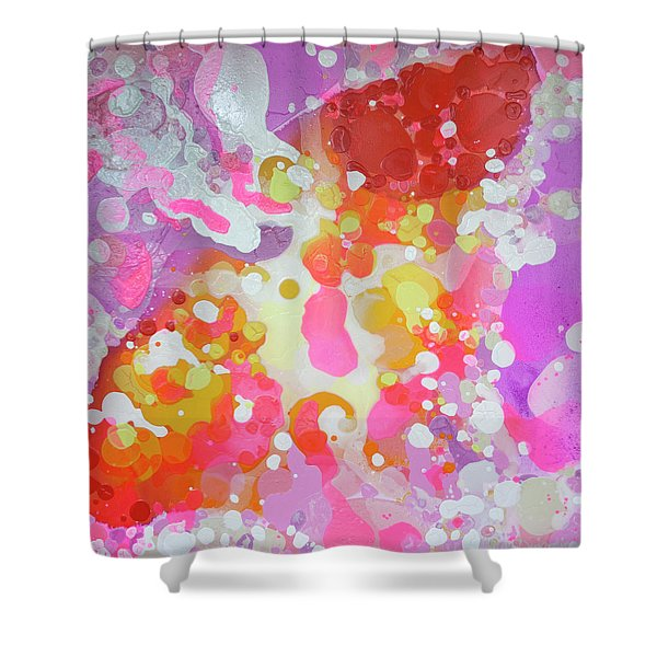 Between Here And There Shower Curtain