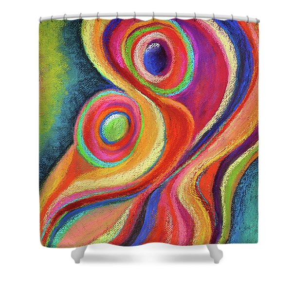 Between Mother And Child Shower Curtain