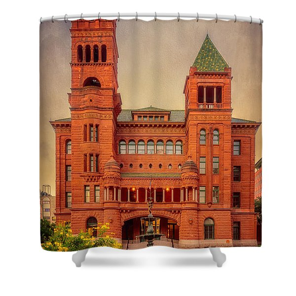 Bexar County Courthouse Shower Curtain