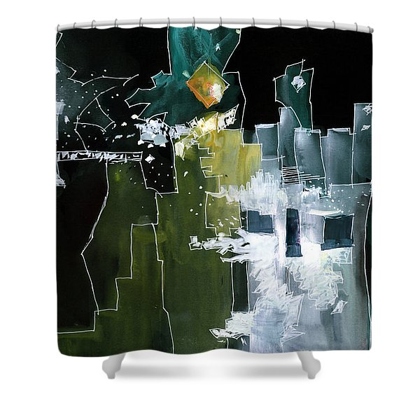 Beyond Horizons Shower Curtain
