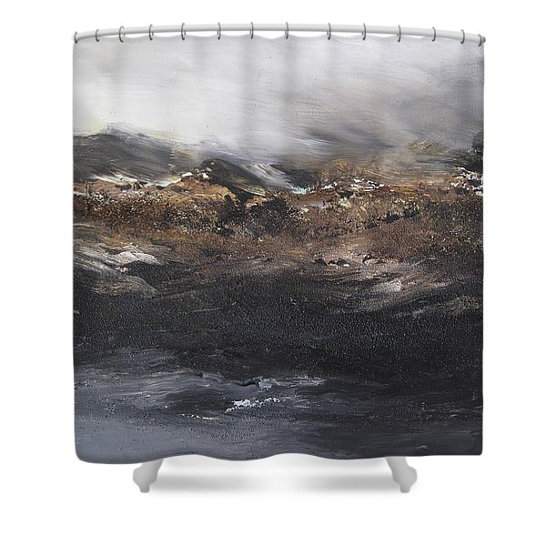 Beyond The Cliffs Shower Curtain