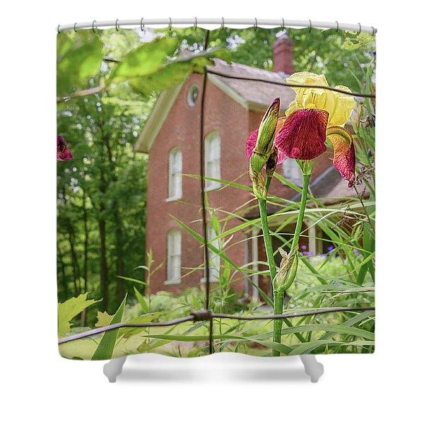 Beyond The Garden Fence Shower Curtain
