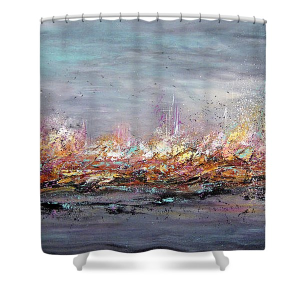 Beyond The Surge Shower Curtain