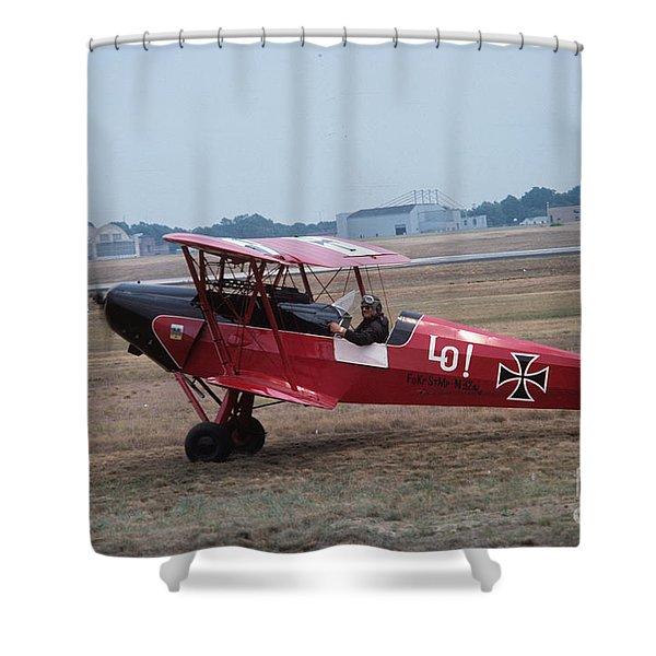 Bi-wing-2 Shower Curtain