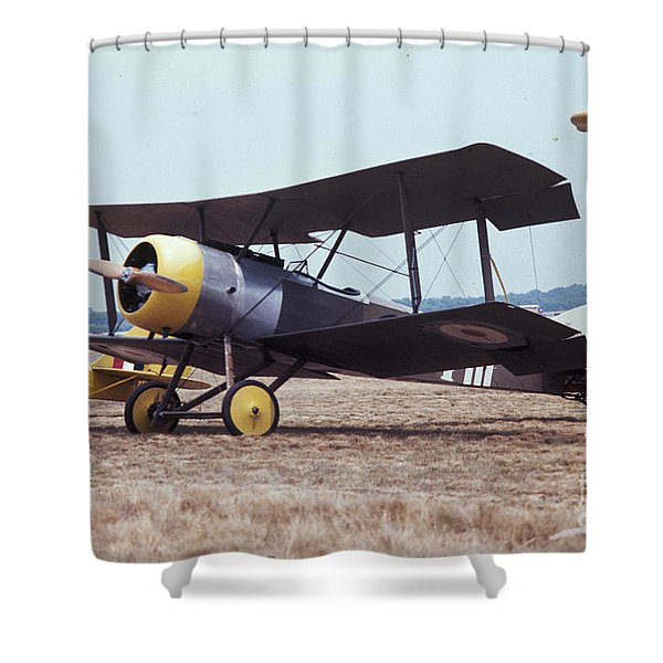 Bi-wing-4 Shower Curtain