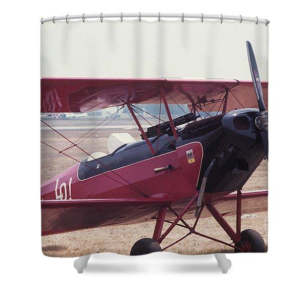 Bi-wing-5 Shower Curtain