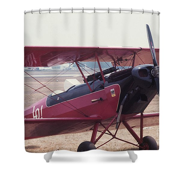 Bi-wing-5 Shower Curtain