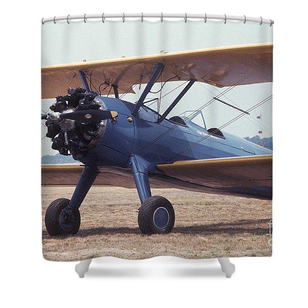 Bi-wing-8 Shower Curtain