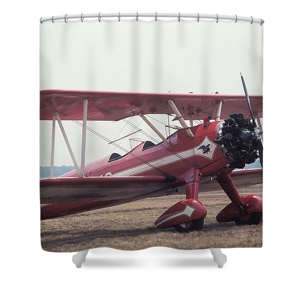 Bi-wing-9 Shower Curtain