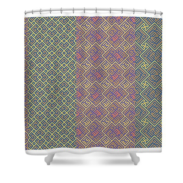 Bibi Khanum Ds Patterns No.9 Shower Curtain