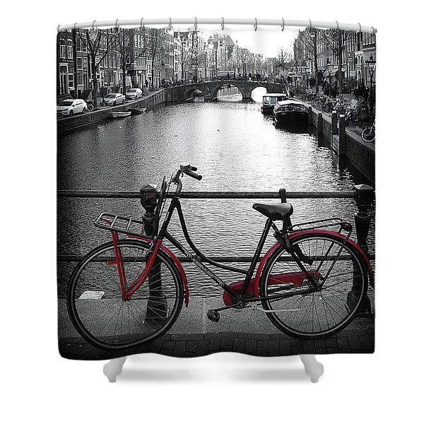 Bicycle 2 Shower Curtain