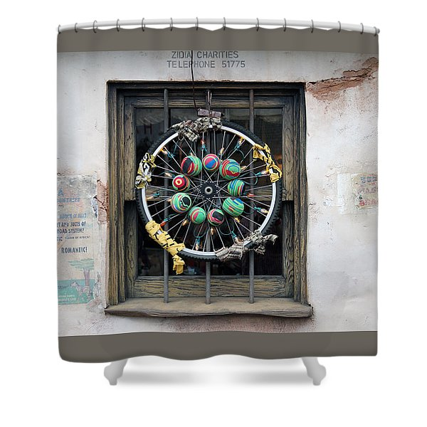 Bicycle Art Shower Curtain